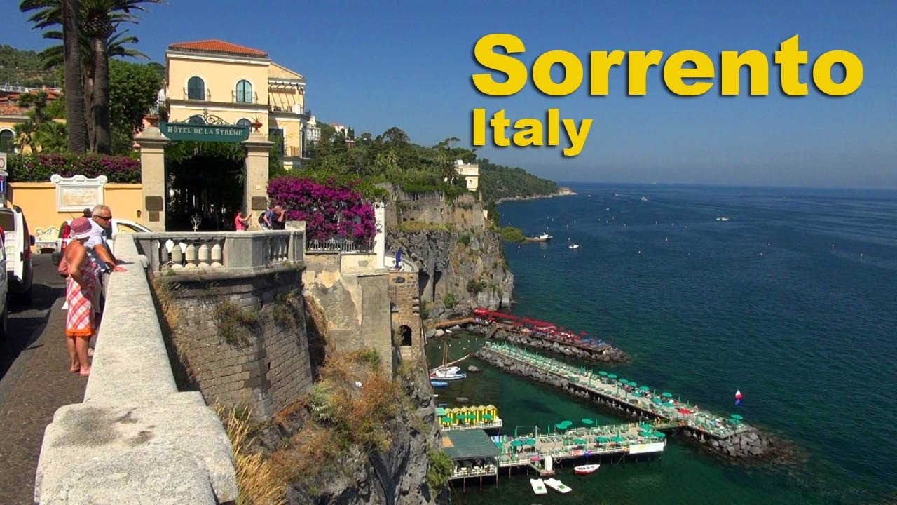 Best Hotels In Sorrento Italy